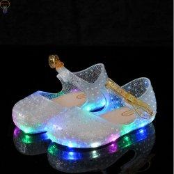 Индикатор технического вазелина дети обувь LED обувь для девочек
