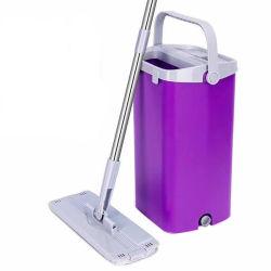 新しいデザインバケツのモップ、フリーハンドの洗浄モップ