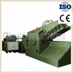 Aço inoxidável cobre alumínio e ferro de metal de cisalhamento Jacaré hidráulico da máquina