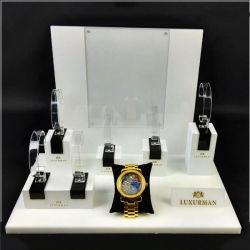 Countertop-hölzerner Acryluhrenarmband-Schmucksache-Ausstellungsstand