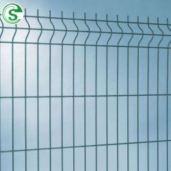 5mm galvanisé à chaud sur le fil 3D flexion du panneau de clôture