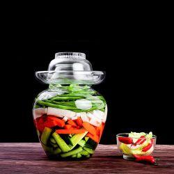 Préserver Jar 2L 3L 5L 10L'eau de cuisine en verre scellées de cornichons fermenté de ménage de stockage de la bouteille en verre&Stockage bocaux avec couvercle en verre