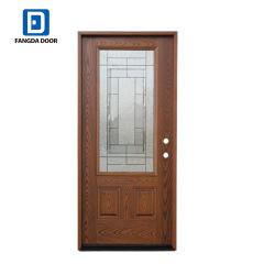 ガラス/クラシックの外部の前部出入口が付いている外部前ドア