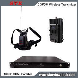 Cofdm AV HDMI Nlos Transmisor de vídeo HD portátiles inalámbricos