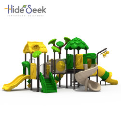 2018 غابة موضوع أطفال بلاستيكيّة خارجيّ ملعب تجهيز لأنّ متنزّه ([هس806601])