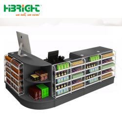 Scrittorio del registratore di cassa di disegno moderno del piccolo supermercato