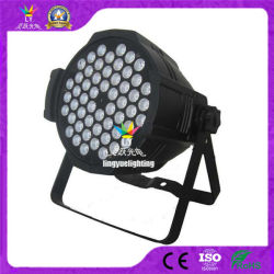 Etapa Professional 54X3w RGBW DMX LED LÂMPADA PAR