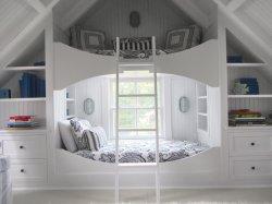 Économie d'espace chambre à coucher Mobilier Stable Kids' Lit coffre Lit Loft