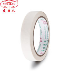 Venda por grosso de papel crepe branco Papelaria Fita adesiva de Propósito Geral para mascaramento de pintura