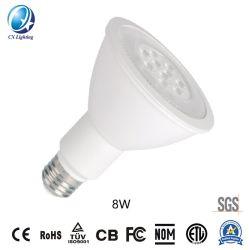 Светодиодная лампа LED ПРОЖЕКТОР PAR20 тип SMD 8W 600 лм 110V-130V PF0.9
