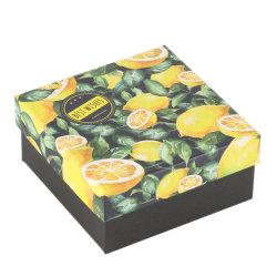 Boîte de fruits en carton ondulé imprimé personnalisé avec la poignée de coupe
