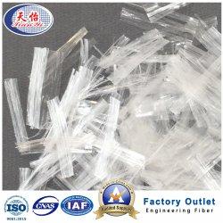Boa estabilidade química Net PP a fibra de polipropileno em bruto