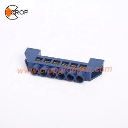 Bornes de masse barre en laiton neutre électrique de la masse du bloc de câblage