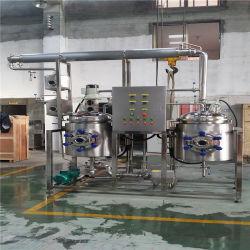 Extrait sec de thé blanc à base de plantes en acier inoxydable de concentrateur de l'extracteur de poudre de la machine