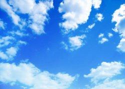 Blauwe Hemel/Witte LEIDEN van Wolken Licht Comité voor BinnenOntwerp