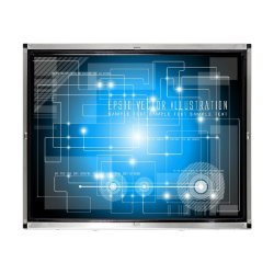 17-дюймовый монитор с сенсорным экраном Cjtouch IR для киосков