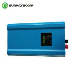 محول عامل بالطاقة الشمسية بقدرة 2 كيلو واط مع شاحن بقدرة 60 أمبير يعمل بالطاقة الشمسية وحدة تحكم مدمجة
