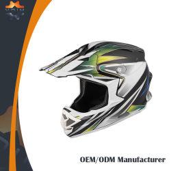 Оптовая OEM напрямик мотоцикл касок Motocross DOT шлем Mx Racing шлем ЕЭК