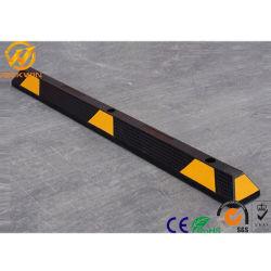 Heavy Duty Relecitive résistant 1650mm jaune en caoutchouc de blocs de stationnement