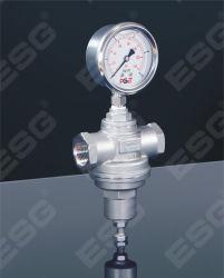 PN25 extremos del hilo presión de acero inoxidable Válvula de reducción