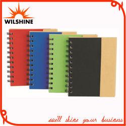 Hardcover spiraalnotebook met pen voor promotie (SNB137)