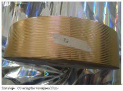 K117-2b goldene Abdeckung-Rohr-Maschinen-/Cover PVC-Papier-/Trennvorhang-Zubehör