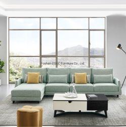 Stoffen woonkamer meubels moderne sofa Jacquard eenpersoonsslaapbank stoel