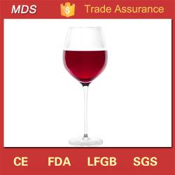 Comercio al por mayor fabricantes de vidrio tallo claro cristal de vino tinto