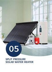 Sistema del riscaldamento ad acqua calda del collettore solare del condotto termico