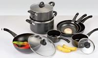 Non-Stick Cookware Set K12set-06 (het gebraden gerechtpan van de sauspot/wokpan/sauspan)