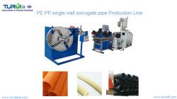 La grande vitesse à paroi simple tuyau ondulé Tube en plastique Making Machine/Ligne de Production/Machine/l'extrudeuse extrusion de machines et/ou tuyau en PVC Ligne d'Extrusion