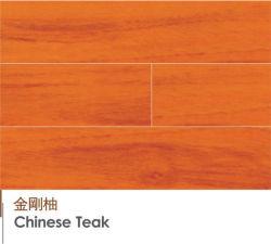 Engenharia de teca chineses pavimentos de madeira laminado de madeira