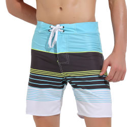 Poliéster Secado rápido trajes de baño playa hombres cortos trajes de baño Mens cortos