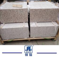 Crystal Amarelo/Shandong Rusty G603/G654/G682/Branco/cinza/preto/marrom/rosa de pedra de granito piso para revestimento de paredes escadas passos exterior em pedra de enfrentamento para pavimentação em mosaico