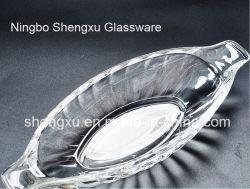 Design de navio de cristal de vidro transparente cápsula de vidro de placa Sx-005