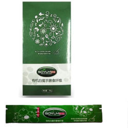 Les fibres alimentaires à base de plantes de boire du thé Slim konjac