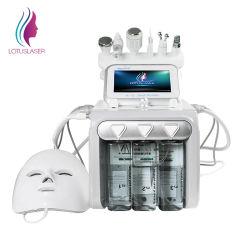 Migliore risultato 6 in 1 Facial ultrasonico della buccia del getto della macchina di ossigenoterapia della macchina di bellezza di vuoto di cavitazione