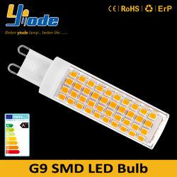 124PCS 2835SMD بدون لمبة LED بقوة 110 فولت - 260 فولت بقوة 7 وات طراز G9 استبدل المصباح الهالوجيني الأصفر