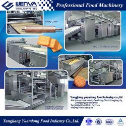 A linha de produção de biscoitos