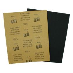 Larga vida útil Papel lija de papel de la arena húmeda y seca para los coches de venta directa de fábrica 240 600 2000 Multi Grid abrasivos de grano húmedo o seco el precio de papel de lija 400