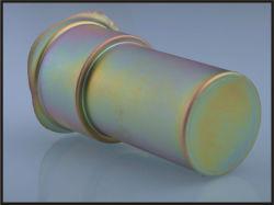 Haute précision de couleur profonde tirées les pièces en zinc plaqué