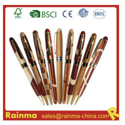 Fonte de metal de madeira de alta qualidade para oferta promocional de caneta