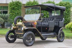 Batería de plomo a largo kilometraje Retro clásico cochecito de golf coche eléctrico