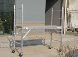 Aluminium de haute qualité plate-forme d'échafaudage roulant
