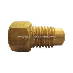 """Conector flexible de freno de bronce de precisión de 3/16"""" de la línea de freno"""
