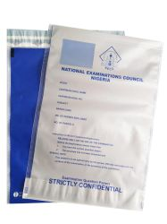Besetzer-Beweis sackt Sicherheits-Beutel transparentes PET-LDPE-Material kundenspezifische Größe und Farbe und Stärke von der Hersteller-Bankeinlage-Plastiktasche ein