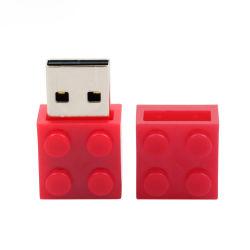 Строительный Блок диск подарок перо диск реальных возможностей USB Stick мультфильма Toy кирпича флэш-накопитель USB 2.0