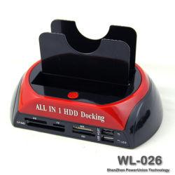 """Disco fisso da 3.5"""" 2.5"""" SATA / IDE 2 Double - Dock Componenti dell'enclosure di storage esterno per docking station e- SATA/Hub"""