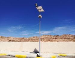 Cónicos de hierro fundido de la calle poste de luz exterior Farola