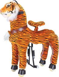 Giocattoli animali dell'interno/esterni di giro della tigre